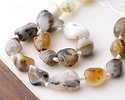 Natural Agate Tumbled Nugget 13-22x12-14mm