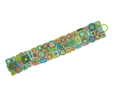 Glass Garden Gee's Sorbet Bend Cuff Kit