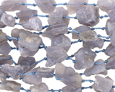 Chalcedony Rough Freeform Nugget 22-27x20-28mm