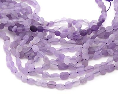 Lavender Amethyst (matte) Mini Nugget 5-8mm