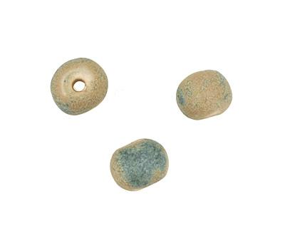 Gaea Ceramic Antique Organic Round 9-10x12-13mm