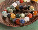Earth Tones Gemstone Mix Round 10mm