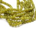 Olive Jade Round 8mm