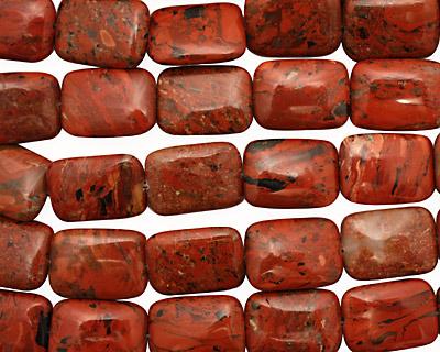 Brecciated Jasper Thin Pillow 25x18mm