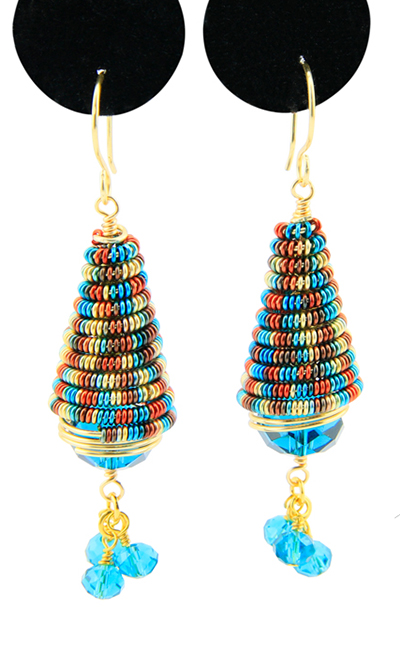 Artistic Wire MultiColor Blue/Red/Gold 22 Gauge, 6 Yards