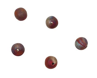 XAZ Raku Stan's Rust Round 8-10mm
