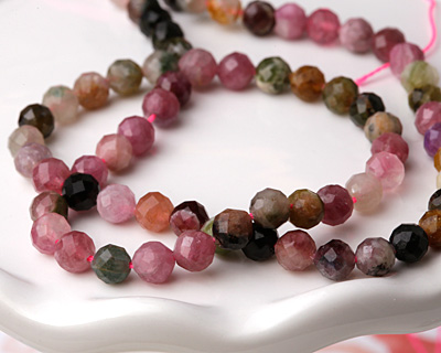 Tourmaline Faceted Round 4mm
