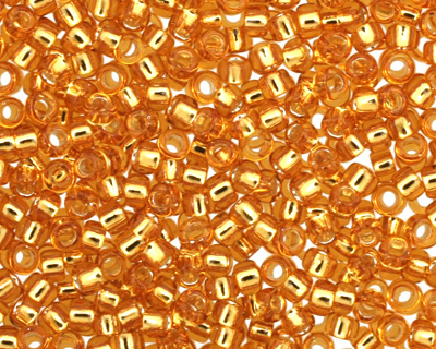 TOHO Topaz (with Silver Lining) Round 15/0 Seed Bead