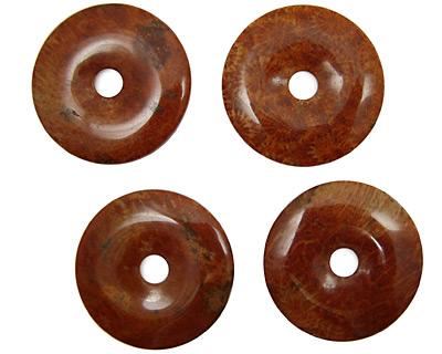 Fossil Jasper (red) Donut 45mm