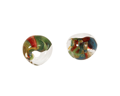 Unicorne Beads Exotic Mango Tango Teardrop 7x9mm