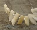 Yellow Jade Stick Slice Focal Set 9-11x26-35mm