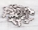 Stainless Steel Tiny Key Charm 6x13mm