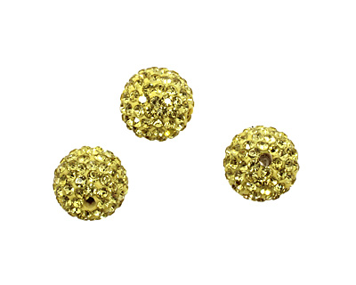 Dandelion Pave Round 12mm (1.5mm hole)