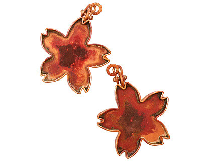 Patricia Healey Copper Flower Bezel 45x59mm