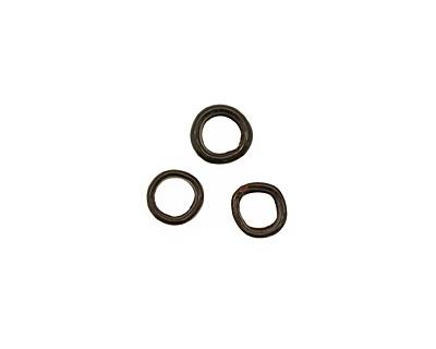 C-Koop Enameled Metal Black Ring 10-11mm