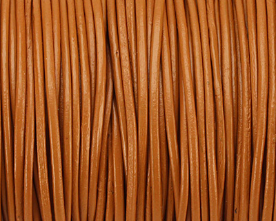 Henna Round Leather Cord 1.5mm