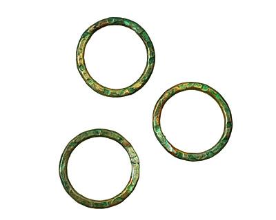 Missficklemedia Patinated Laurel Green Link 16mm