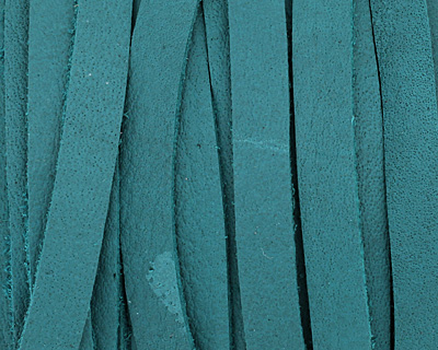 Turquoise Deertan Leather Lace 5mm
