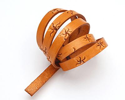 Caramel Sunshine Leather Strap 36
