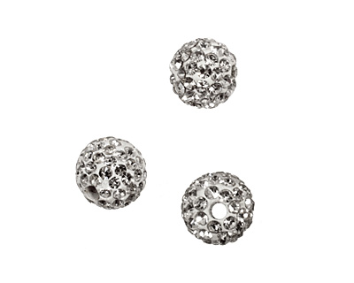 Crystal Pave Round 8mm (1.5mm hole)