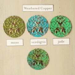 Vintaj Weathered Copper Patina Kit