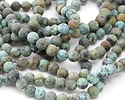 African Turquoise (matte) Round 10mm