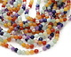 Rainbow Multi Gemstone Faceted Round 6mm