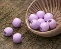 Lavender Wood Round 10mm