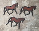 The Lipstick Ranch Rusted Iron Horse Pendant 53x44mm