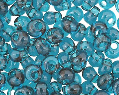 TOHO Transparent Capri Blue Magatama 3mm Seed Bead