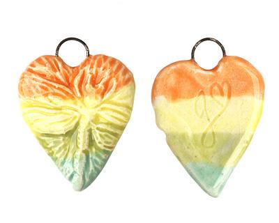 Gaea Ceramic Hand Painted Love Wish Rainbow