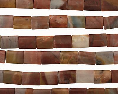 Rainbow Amazonite Thin Pillow 20x15mm