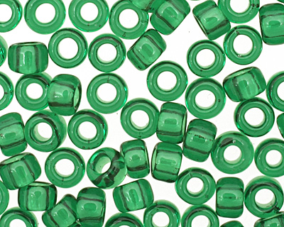 TOHO Transparent Grass Green Round 8/0 Seed Bead