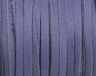 Blue Deertan Leather Lace 3mm