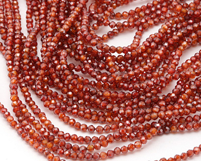 Salsa Cubic Zirconia Faceted Round 2mm