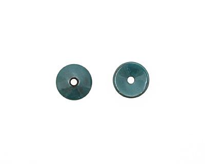 C-Koop Enameled Metal Peacock Blue Chip 3-4x12-13mm