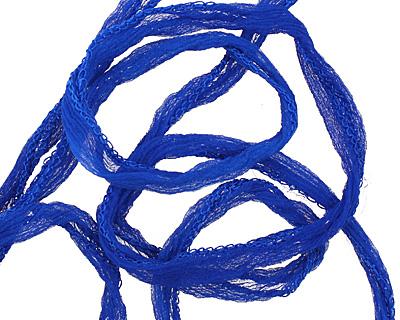 Cobalt Fairy Silk Ribbon 1/2