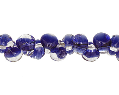 Unicorne Beads Bright Blue Teardrop 7x9mm