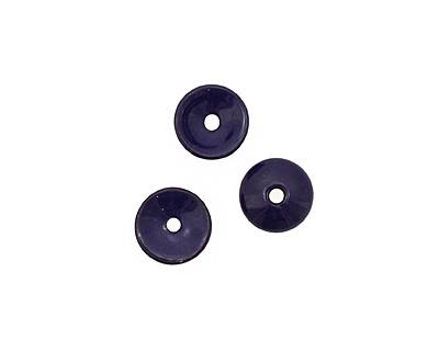 C-Koop Enameled Metal Dark Blue Chip 3-4x12-13mm