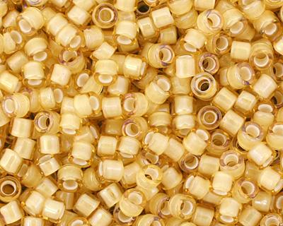 TOHO Jonquil (with White Lining) Treasure #1 Seed Bead