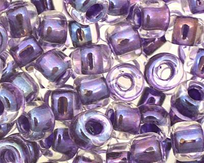 TOHO Rainbow Crystal (with Tanzanite Lining) Round 6/0 Seed Bead