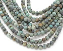 African Turquoise (matte) Round 6mm