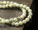 Lemon Chrysoprase Faceted Round 8mm