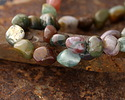 Fancy Jasper Tumbled Nugget 7-16x9-12mm