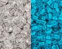 TOHO Glow In The Dark Crystal/Glow Bright Blue Round 11/0 Seed Bead