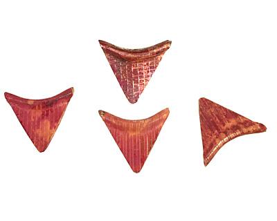 Patricia Healey Copper Triangle Arc 26x24mm
