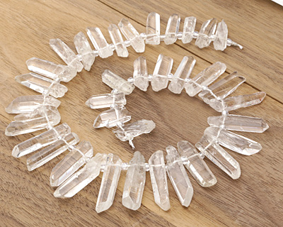 Rock Crystal Graduated Points 6-10x20-50mm