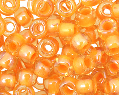 TOHO Jonquil (with Burnt Orange Lining) Round 6/0 Seed Bead