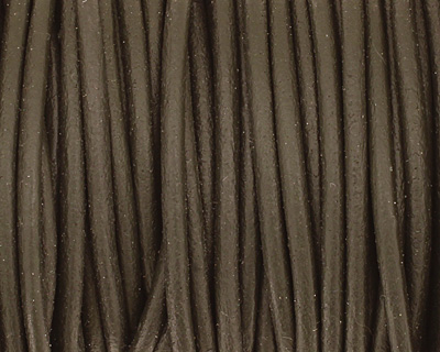Hunter Round Leather Cord 2mm