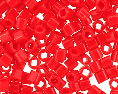 TOHO Opaque Pepper Red Cube 1.5mm Seed Bead